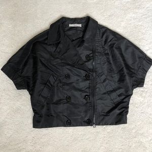 Authentic Prada Short-Sleeve Jacket